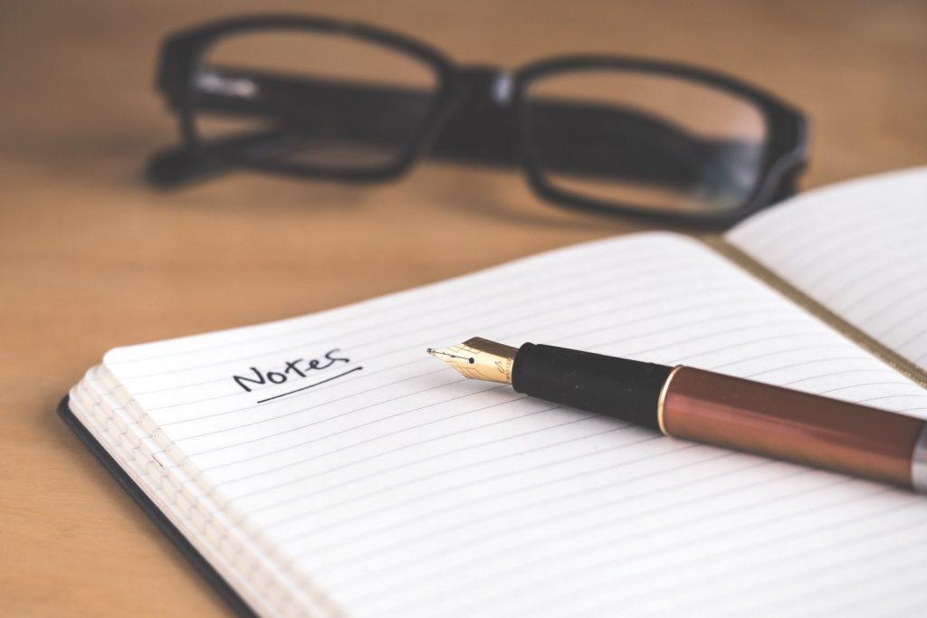 Maak altijd aantekeningen tijdens het brainstormen