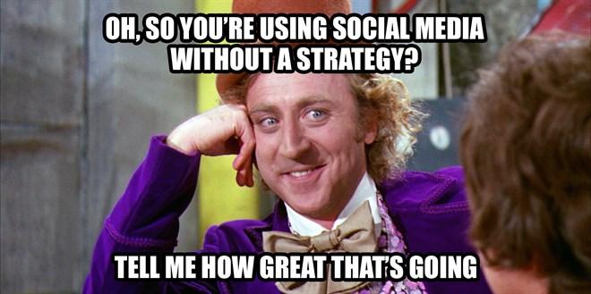 Social-mediastrategie meme