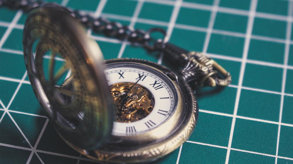 Hou de tijd bij