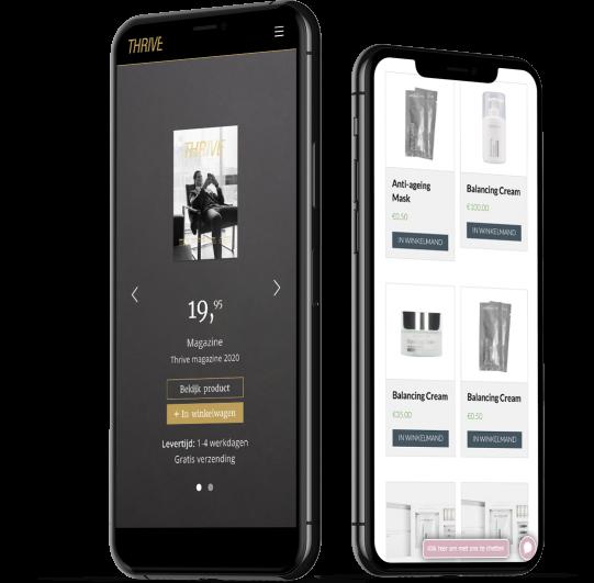 Mobiele WooCommerce webshop laten maken