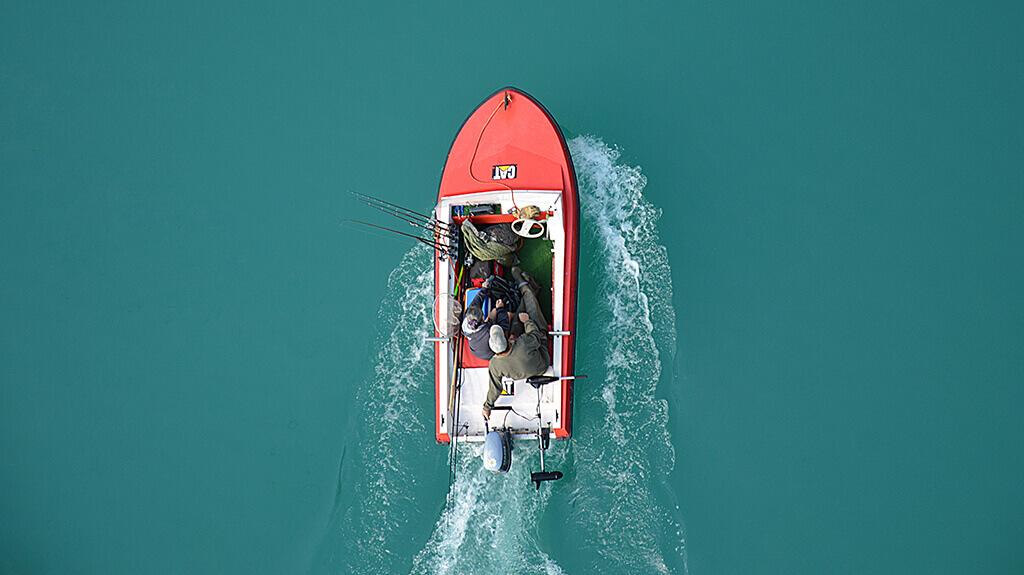 Online adverteren: Vissersboot