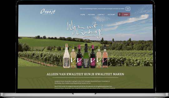 Landgoed Overst website