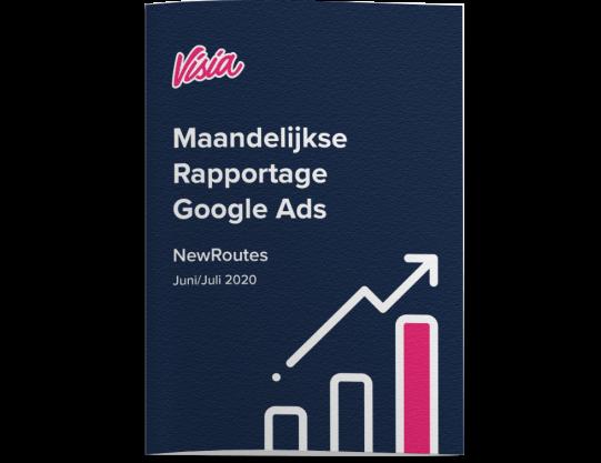 Online strategie maandelijkse rapportage