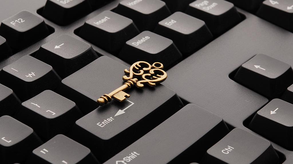 Sleutel op toetsenbord: consistency is key