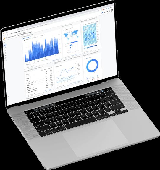 Google Analytics overzicht SEO Bureau Heerlen