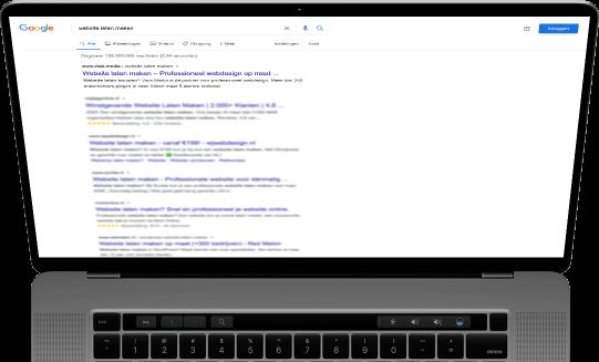 Zoekresultaten Google van Heerlens SEO bureau