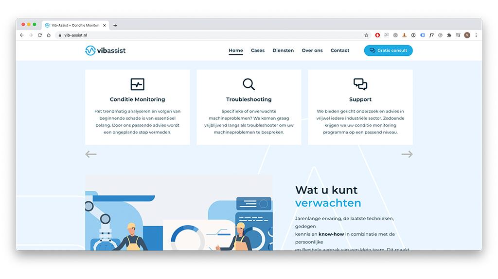 Webdesign met hoge gebruiksvriendelijkheid